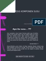 Biosintesis Komponen Susu