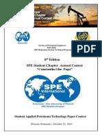 Official Invitation Letter -Constantin Ghe. Popa 8th Edition
