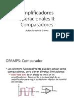 06 Amplificadores Operacionales II