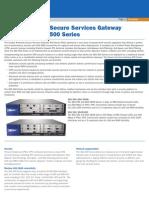 Ssg500 Series Datasheet
