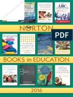 Norton Books in Education 2016