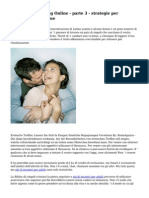 Le regole del Dating Online - parte 3 - strategie per costruire la relazione