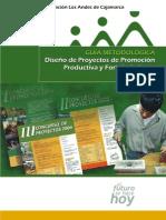 Guia Metodologica Para El Diseño de Proyectos Productivos y Fortalecimiento Empresarial