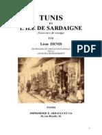 Denis Léon 01 Tunis et l'Ile de la Sardaigne 1880 jys.doc