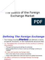 The Basics of the Foreign Exchange Market