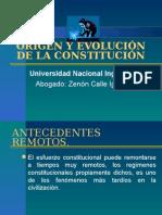 i. Origen y La Evolucion de La Constitucion 1