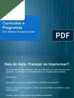 Currículos e Programas