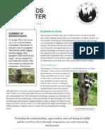 wildwoods newsletter september 2015