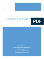 Presenter's Guide - The Power of Independence