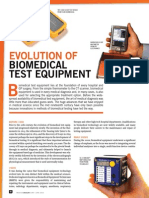 Evolution of Biomedical Test Equipment