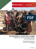 Rapport Entreprises Droits de Homme