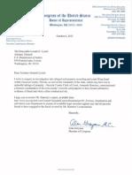 Alan Grayson Letter to Loretta Lynch