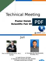 Technical Meeting SF 2015 PosILmiah