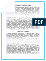 Biografía de Miguel Grau y El Combate de Angamos