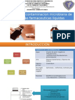Causas de Contaminacion Microbiana