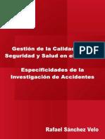 Gestión de La Calidad en La SST - Especificidades de La Investigación de Accidentes - RSV