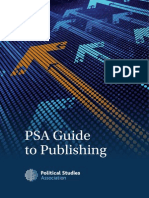 PSA Guide to Publishing 2015