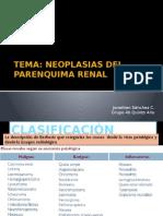 Neoplasias del parenquima renal