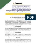 A040-2010 resolución sobre familia biologica