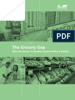 The Grocery Gap