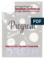 2015 transition conference program