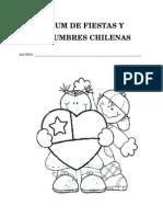 Álbum de Fiestas y Costumbres Chilenas Trabajo Pototo