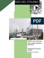 Etileno y sus principales derivados