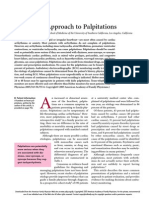 Diagnostic Approach to Palpitations