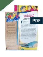 Juan Bobo y El Decreto Del Rey