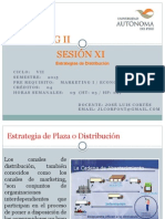 Sesion 11 Estrategias de Distribucion