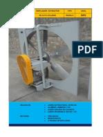 Brochure - AAGG Ventiladores Axiales RPX, fabricante PAGGI Ingenieros