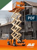 Diesel Power Scissor Lift Brochure ES