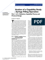 Application of a Capability Study to a Syringe Filling Operation - Part 1 (1)