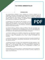 Factores Del Mar