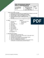 10.2. Job Sheet Memperbaiki Poros Penggerak Roda Belakang