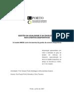 Gestao Da Qualidade e Da Excelencia Nos Eventos Desportivos o Modelo MEDE Como Ferramenta de Gestao de Eventos Desportivos (1)
