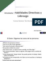Modulo Habilidades Directivas y Liderazgo parte 1