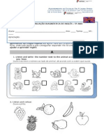 Teste Diagnóstico Inglês 5º ANO 2015-16final