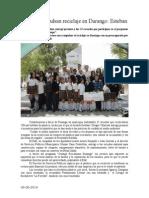 06.06.2014 Escuelas Impulsan Reciclaje en Durango Esteban