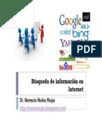 Busqueda de Informacion Cientifica en Internet