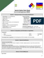Material Safety Data Sheet 2,2,4-trimethylpentane MSDS