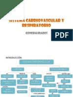 Generalidades Sist. Cardiovascular y Respiratorio
