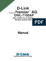 Dwl-7100ap Manual en Uk