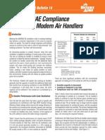 ASHRAE Compliance Using .Modern Air Handlers