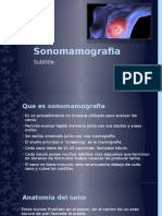sonomamografia