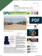 08-10-15 Urge Instalación de drenajes y pavimentación en Miguel Alemán