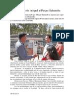 08.06.2014 Rehabilitación Integral Al Parque Sahuatoba