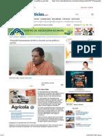 09-10-15 Propondrá ayuntamiento dividir la Sauceda en área pública y privada
