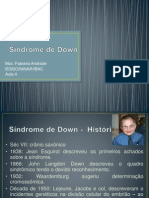 Aula 4_ Sindrome de Down e Tourrete