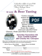 Chicopee to hold wine and beer tasting